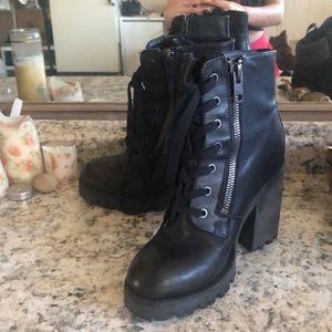 Ash Heeled Boots